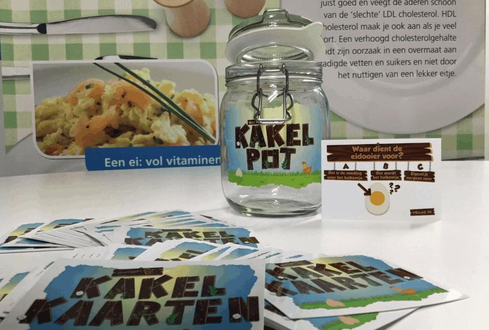 Blij met een Ei presenteert Kakelpot en nieuwe website